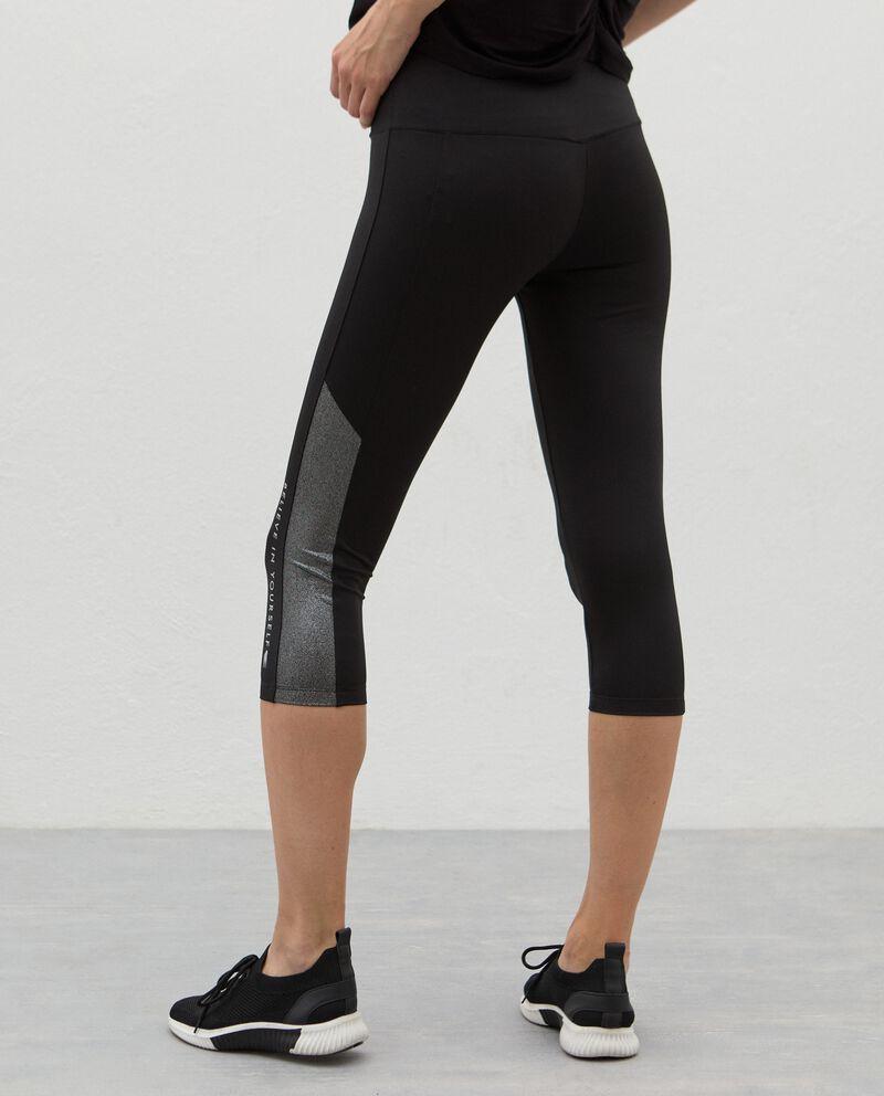 Leggings corsaro Fitness donna single tile 1