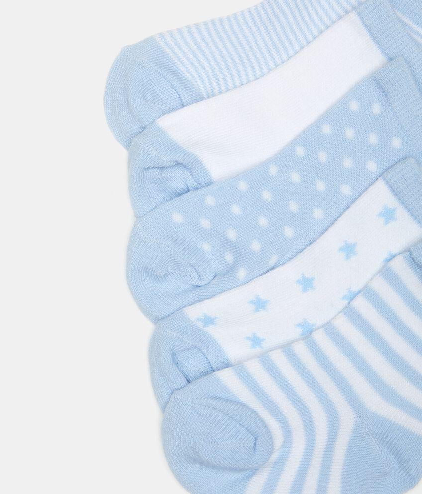 Five pack calze corte neonato
