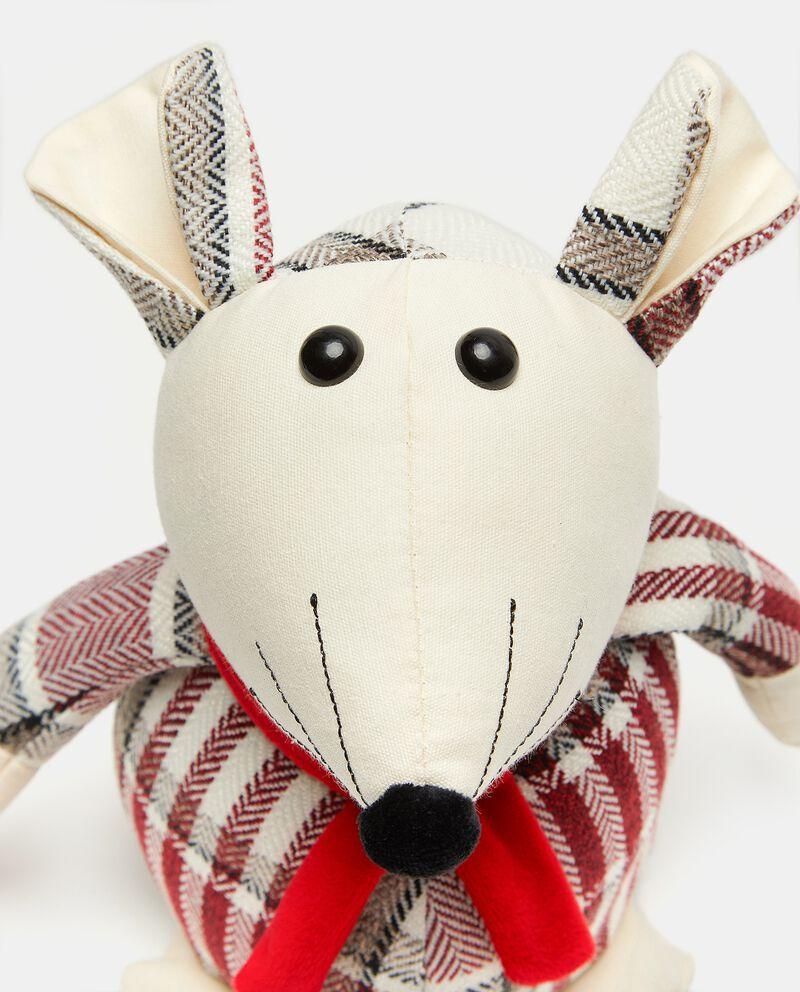 Fermaporta decorativo cane in tessuto