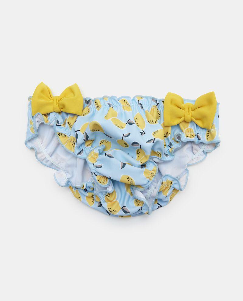 Slip costume con fiocchi neonata