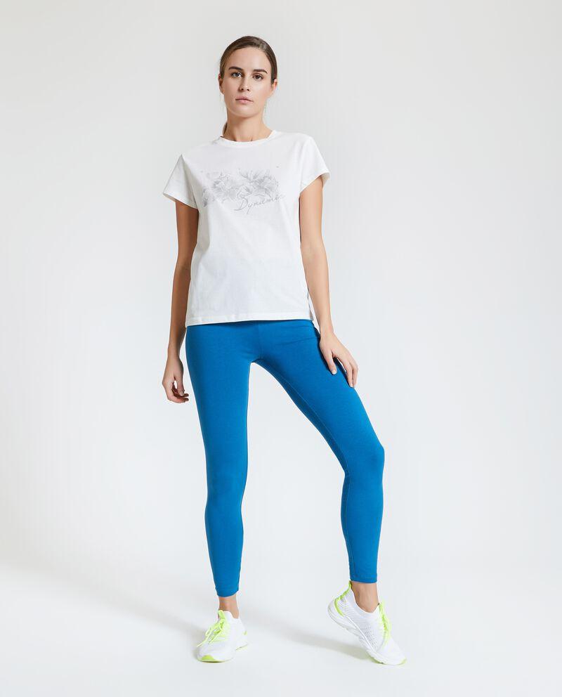 Leggings Fitness in tinta unita donna