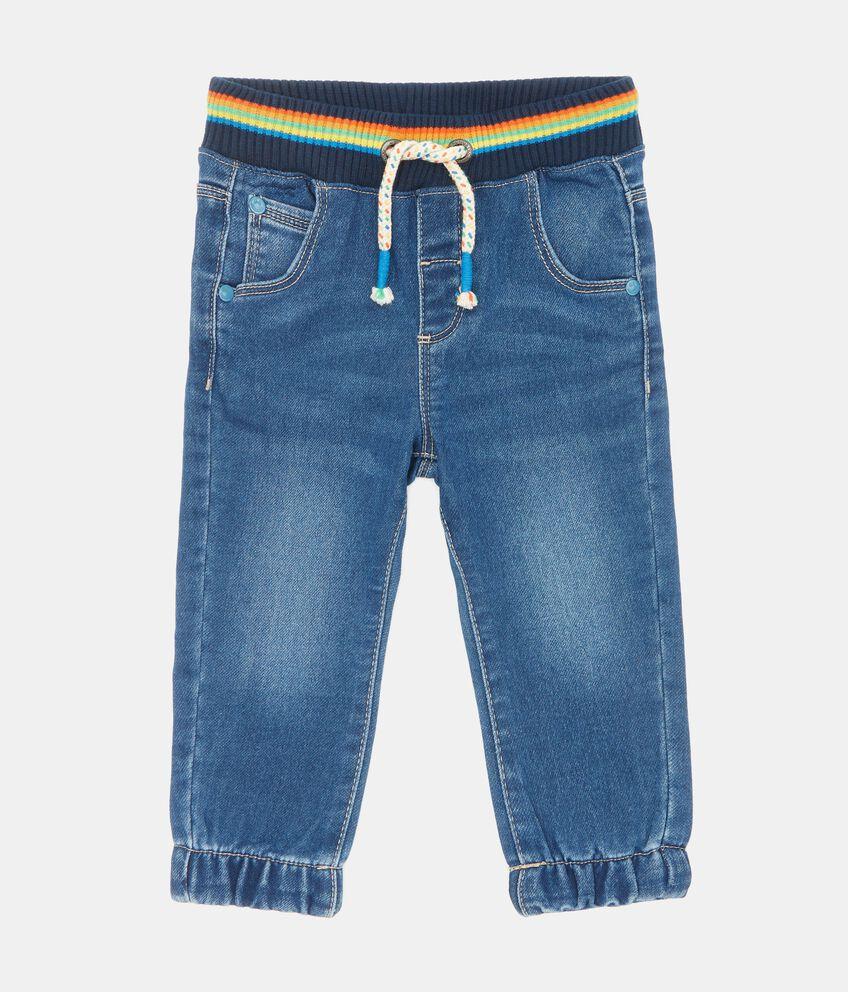 Pantaloni jeans neonato double 1
