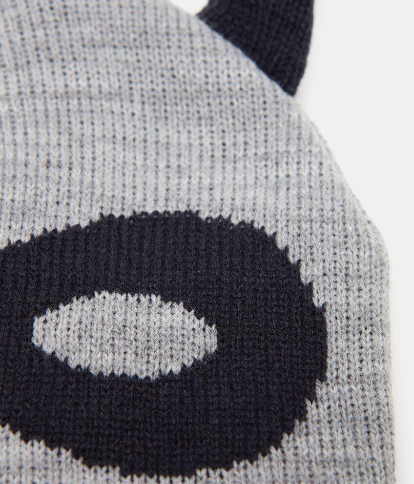 Cappello invernale con maschera neonato