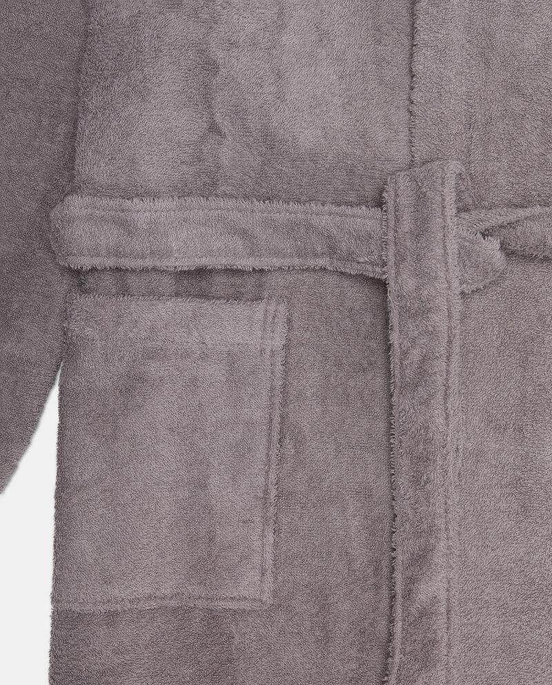 Accappatoio cotone con cappuccio