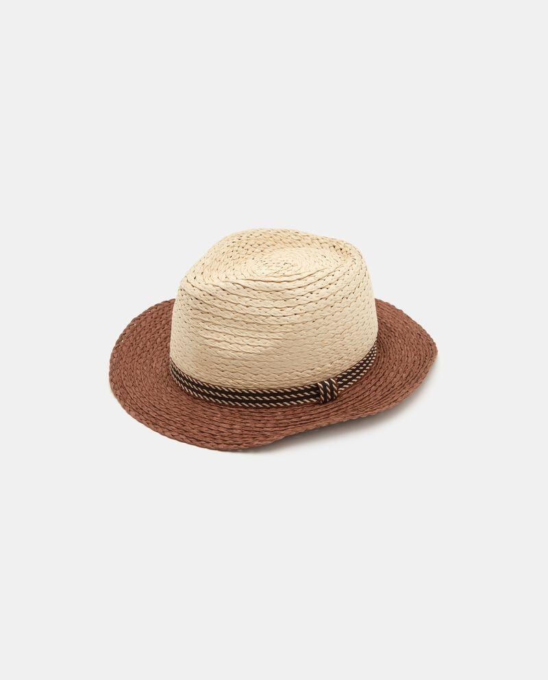 Cappello panama in paglia uomo