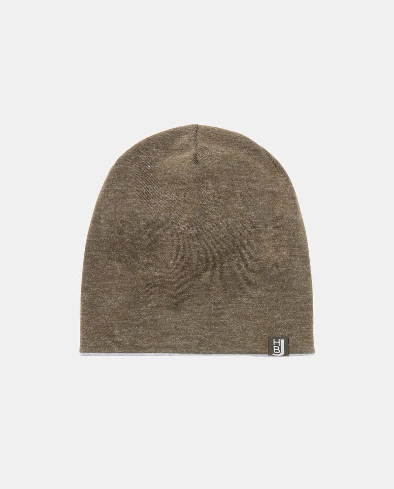 Cappello invernale effetto mélange uomo