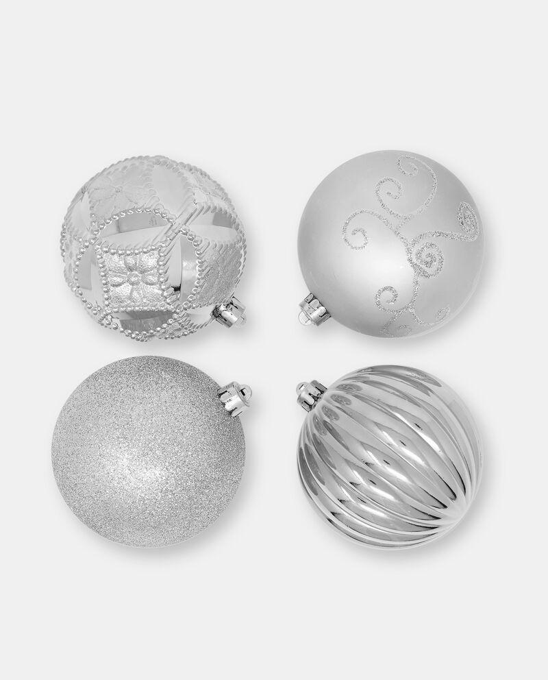 Set palline di Natale in plastica