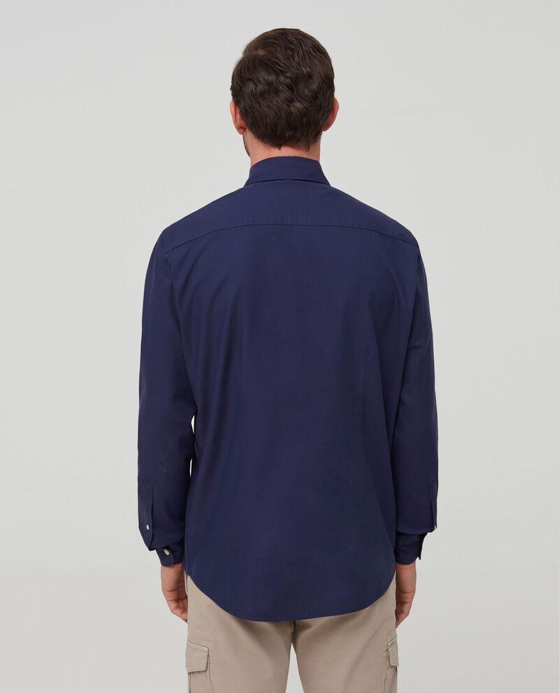 Camicia puro cotone tinta unita single tile 1