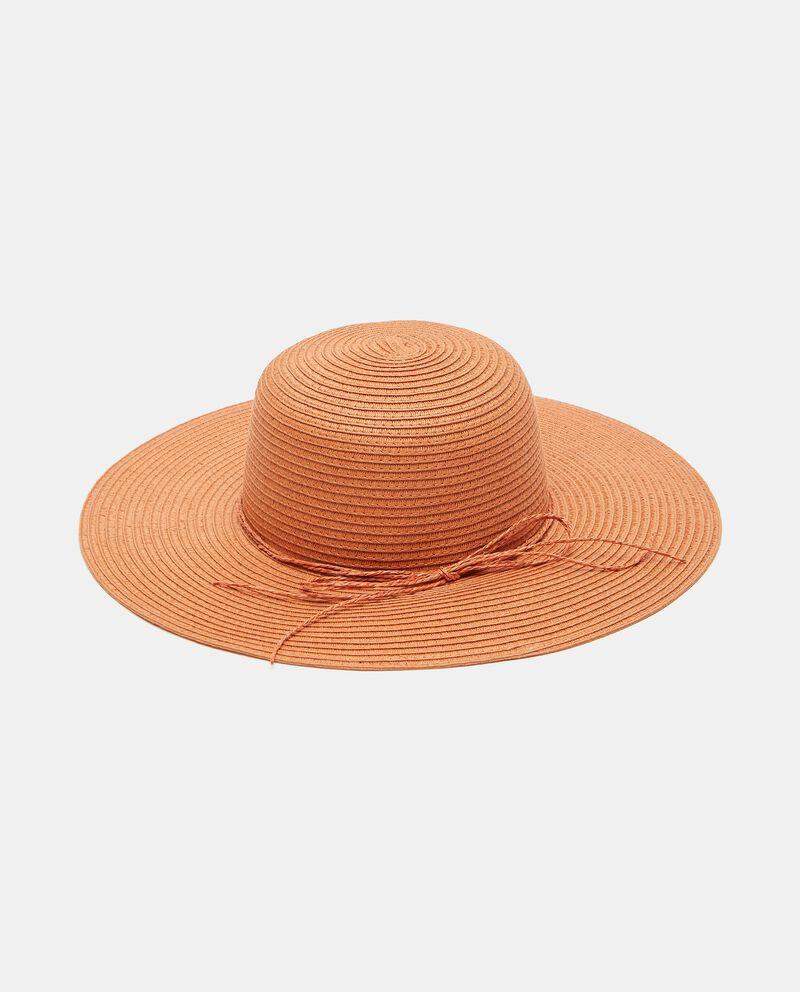Cappello a tesa larga con fiocchetto donna