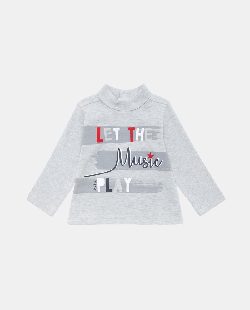 T-shirt collo alto neonato