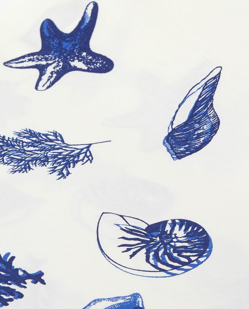 Telo multiuso puri cotone decoro marino