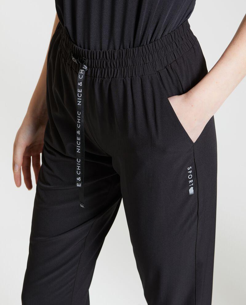 Pantaloni Fitness in tinta unita