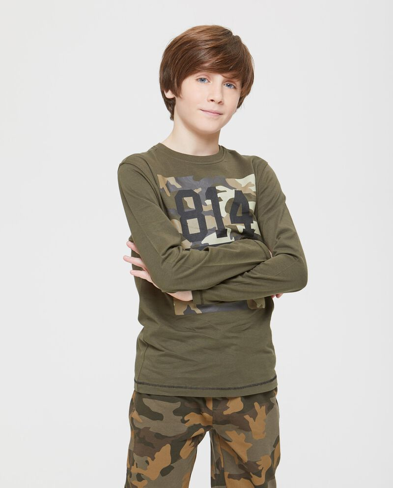 T-shirt cotone camouflage