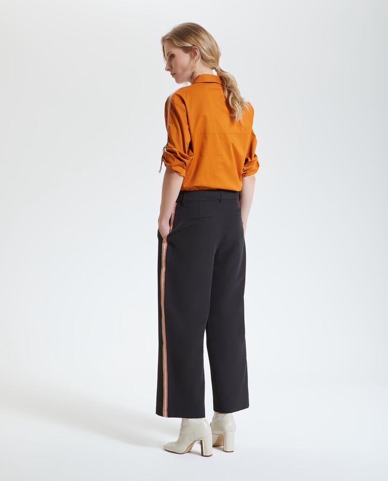 Pantalone in tinta unita donna