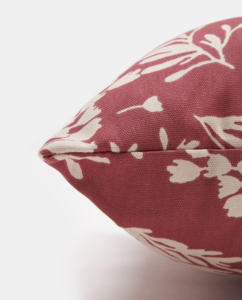 Cuscino puro cotone decoro rami