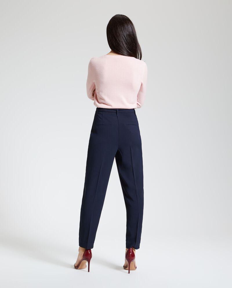 Pantaloni eleganti donna con fiocco