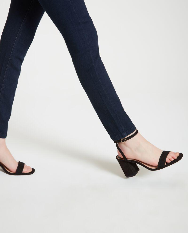 Jeans in tinta unita donna single tile 2