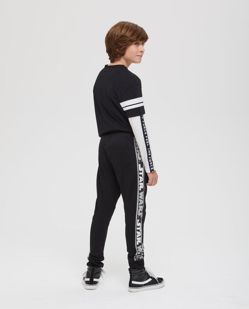 Pantaloni bande a contrasto Star Wars