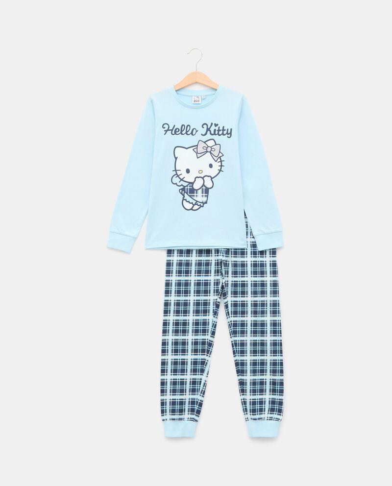 Pigiama con stampa Hello Kitty di puro cotone bambina cover