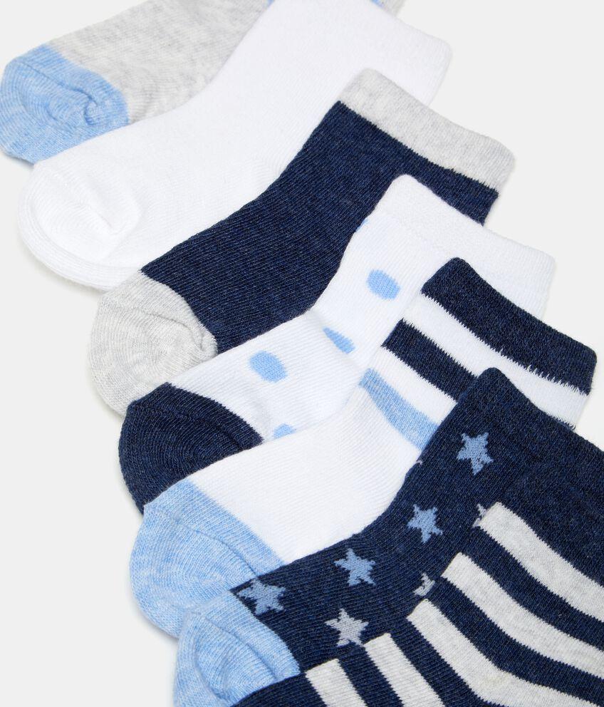 Five pack neonato calze corte