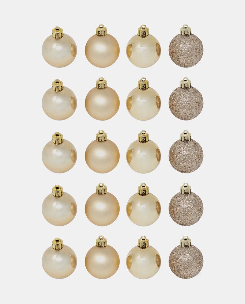 Set venti decorazioni albero Natale