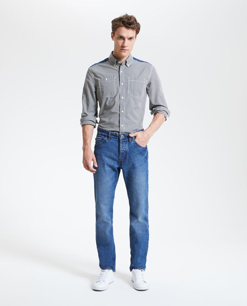 Jeans straight fit uomo