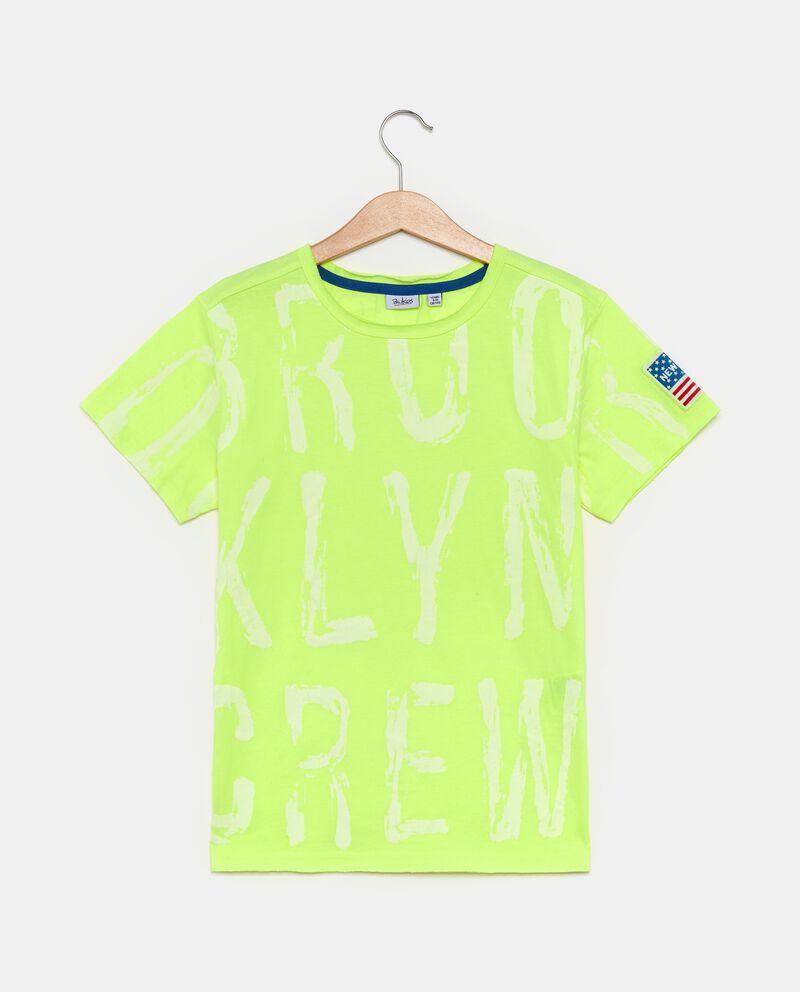 T-shirt con lettere ragazzo cover