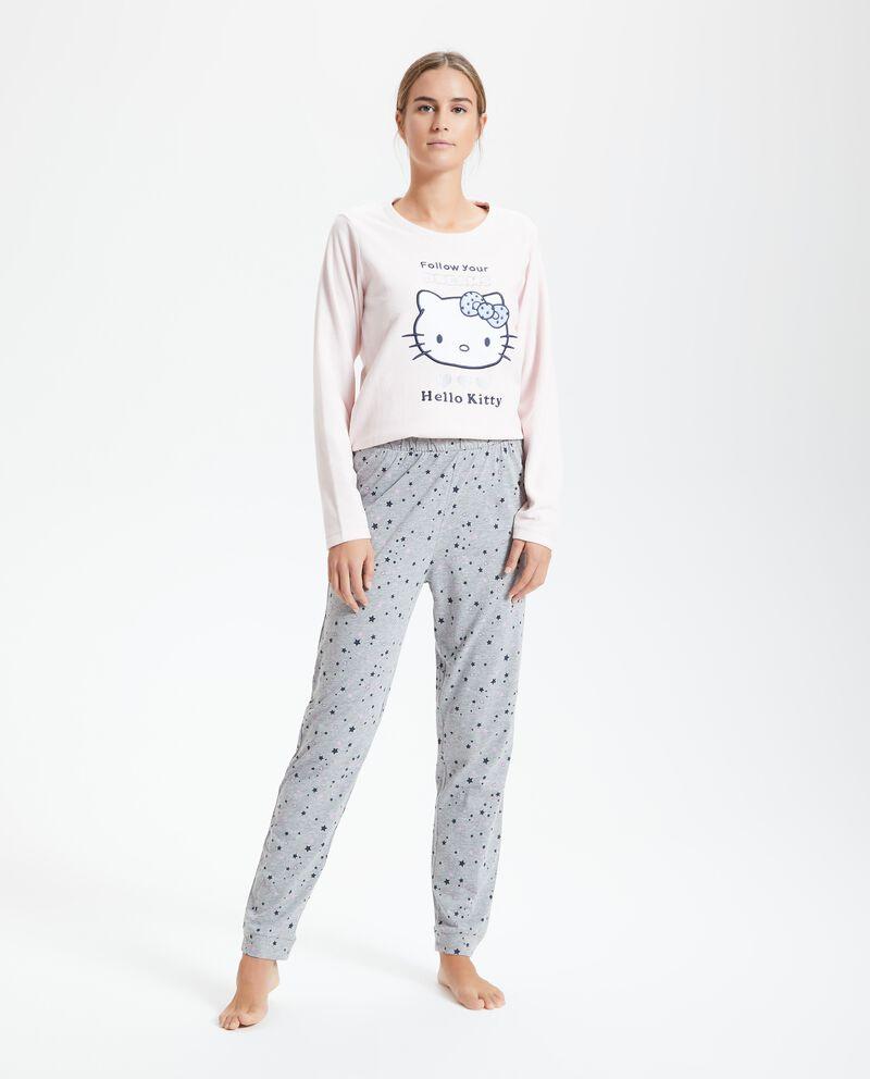 Pantaloni pigiama donna a fantasia