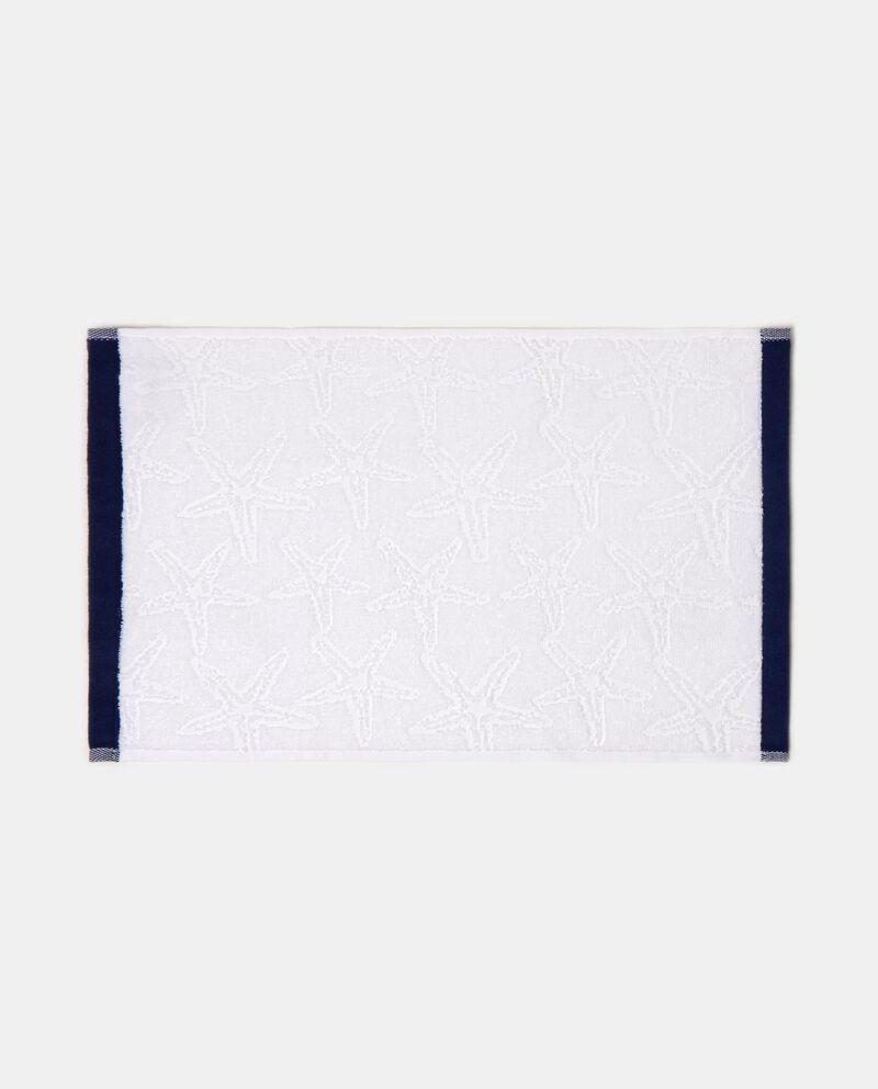 Set tre asciugamani cotone con decoro