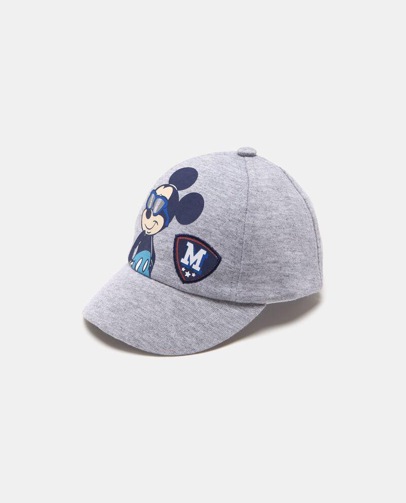 Cappellino cotone fantasia Topolino