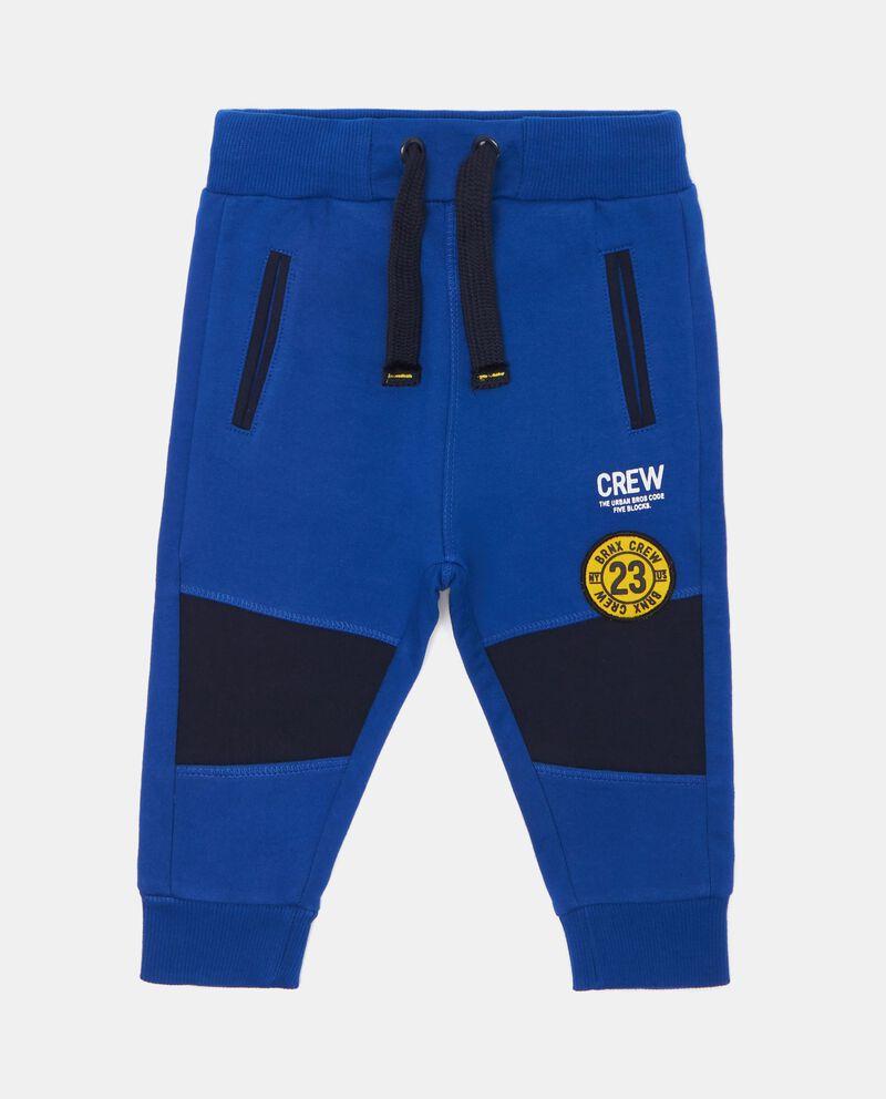 Pantaloni stretch con coulisse