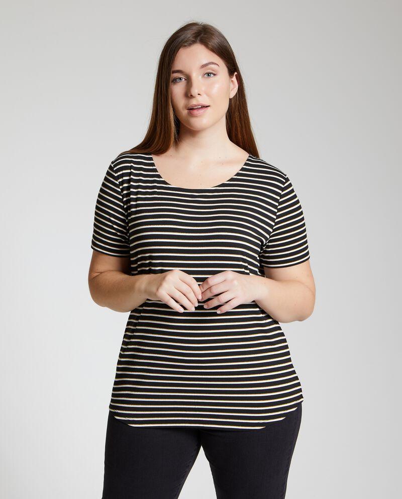 T-shirt a righe Curvy donna