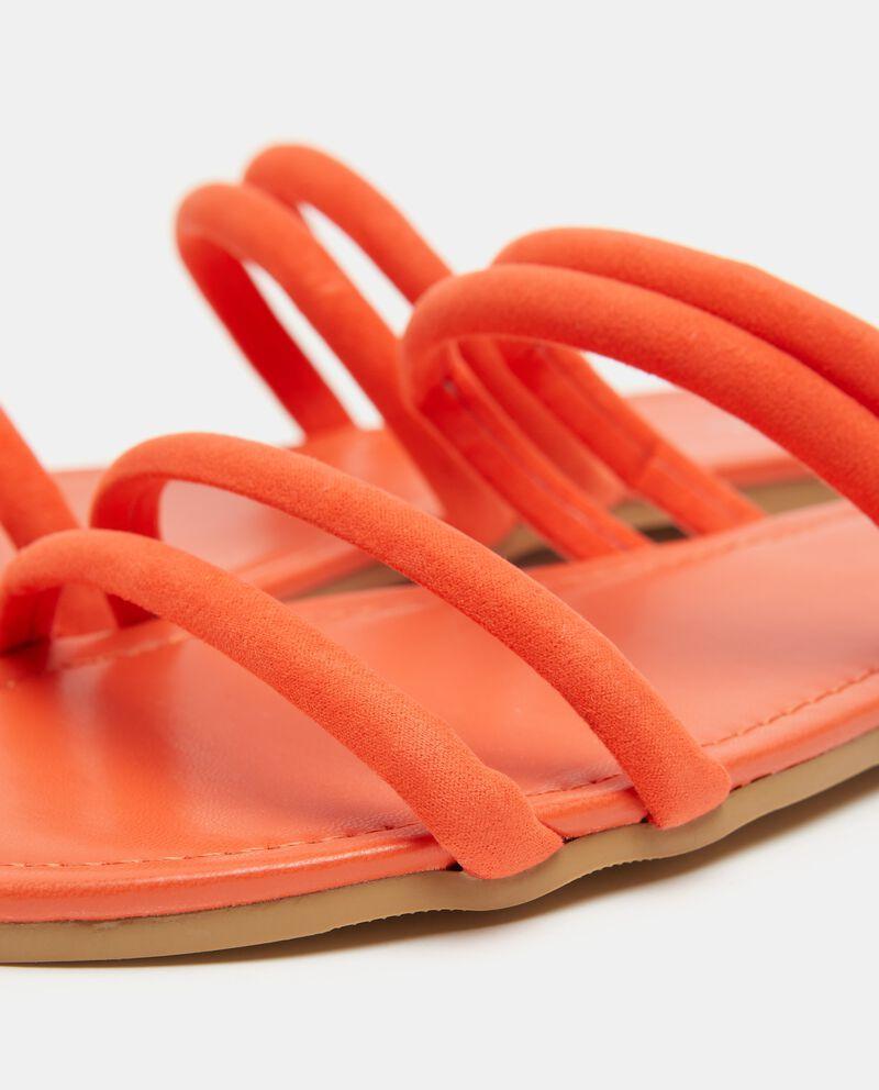 Sandali bassi con fascette donna