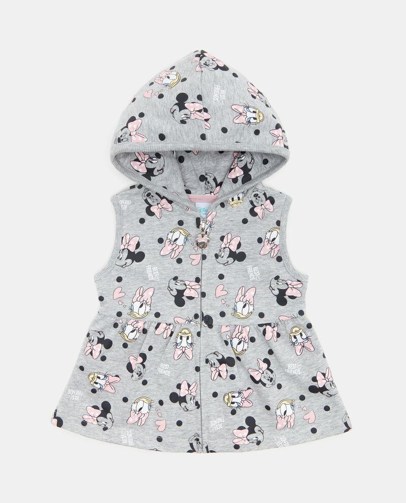 Felpa smanicata con fantasia neonata