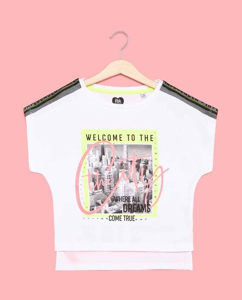 T-shirt ragazza con stampa