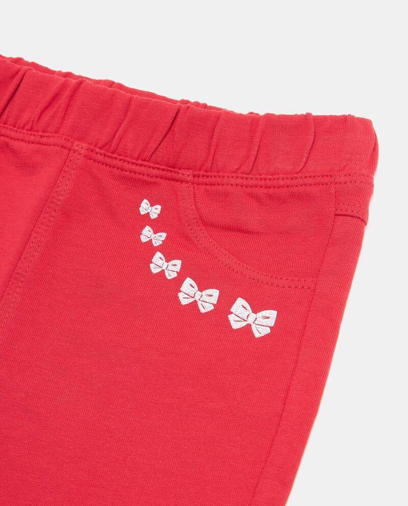 Pantaloni con stampe farfalline neonata