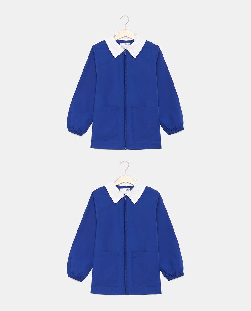 Grembiule giacca scuola con zip bambino cover