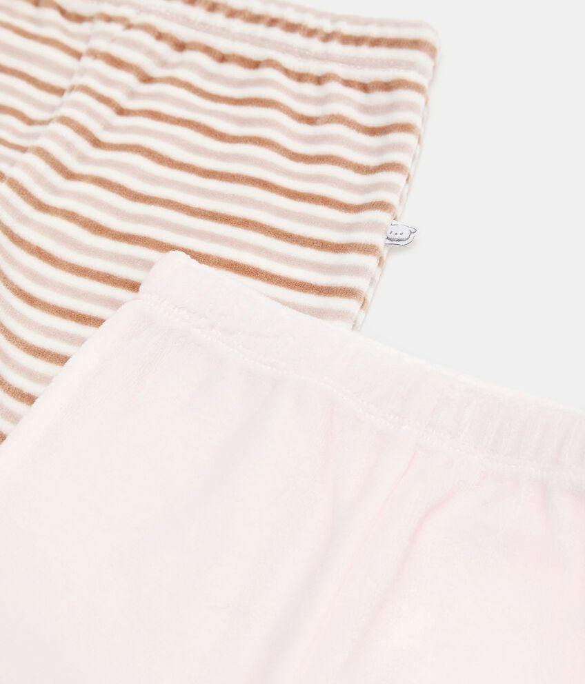 Bipack con 2 pantaloni di cotone biologico double 2