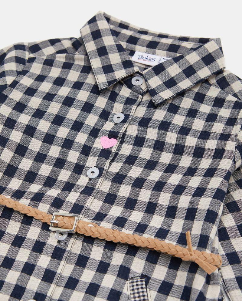 Camicia in puro cotone biologico a quadri