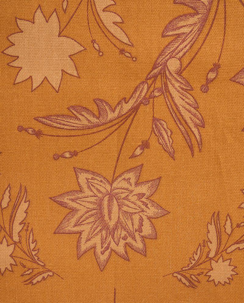 Tovaglia con stampa floreale di puro cotone single tile 1