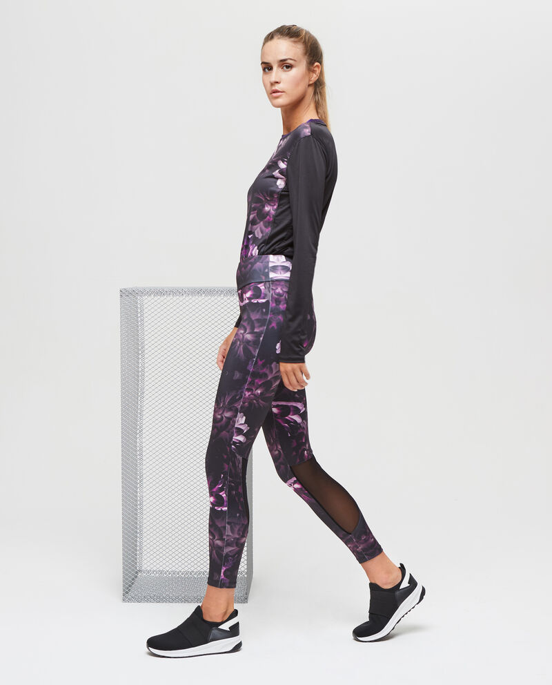 Pantaloni sportivi stretch fantasia