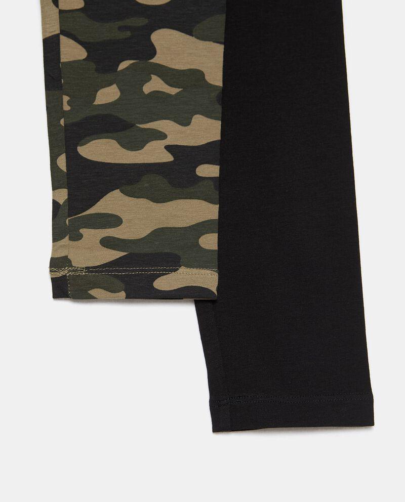 Bipack 2 leggings di cotone biologico stretch ragazzadouble bordered 1