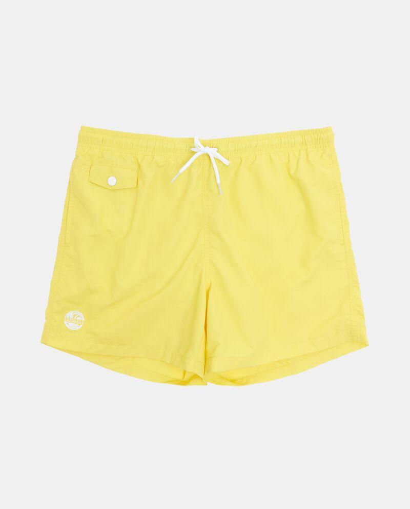 Costume uomo shorts in tinta unita