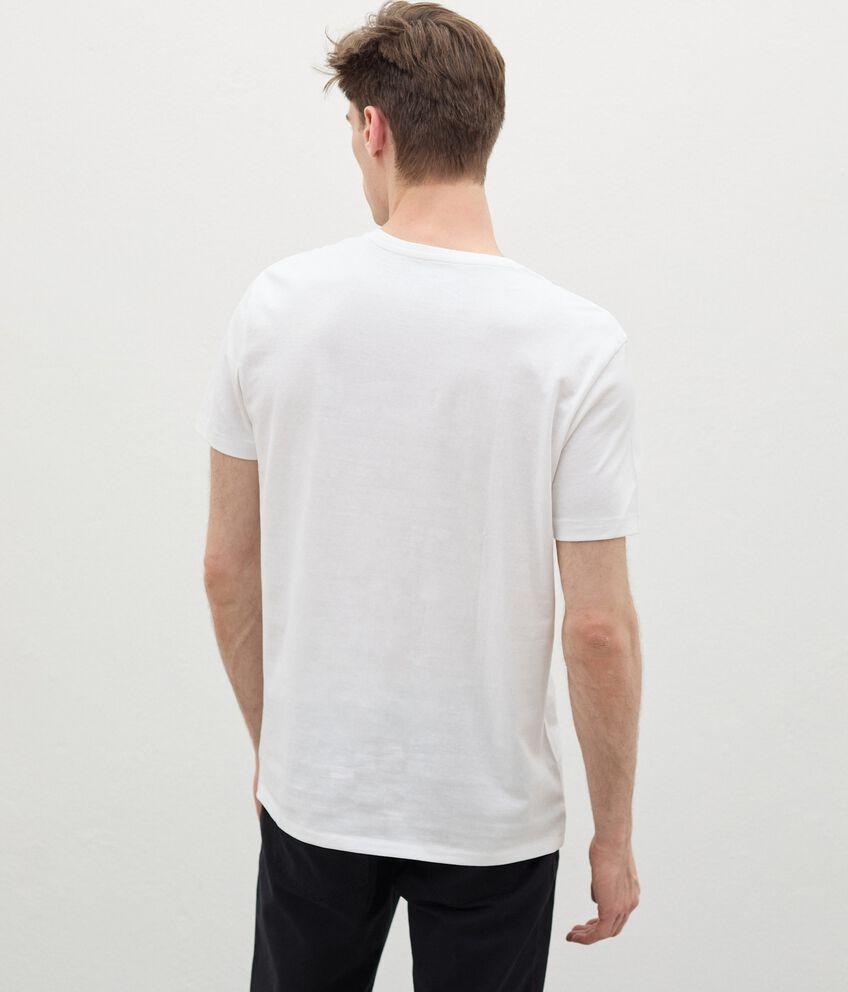 T-shirt con stampa in cotone organico uomo double 2