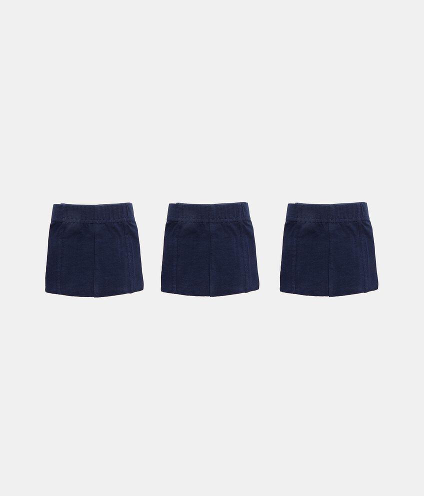 Set 3 boxer in cotone elasticizzato uomo