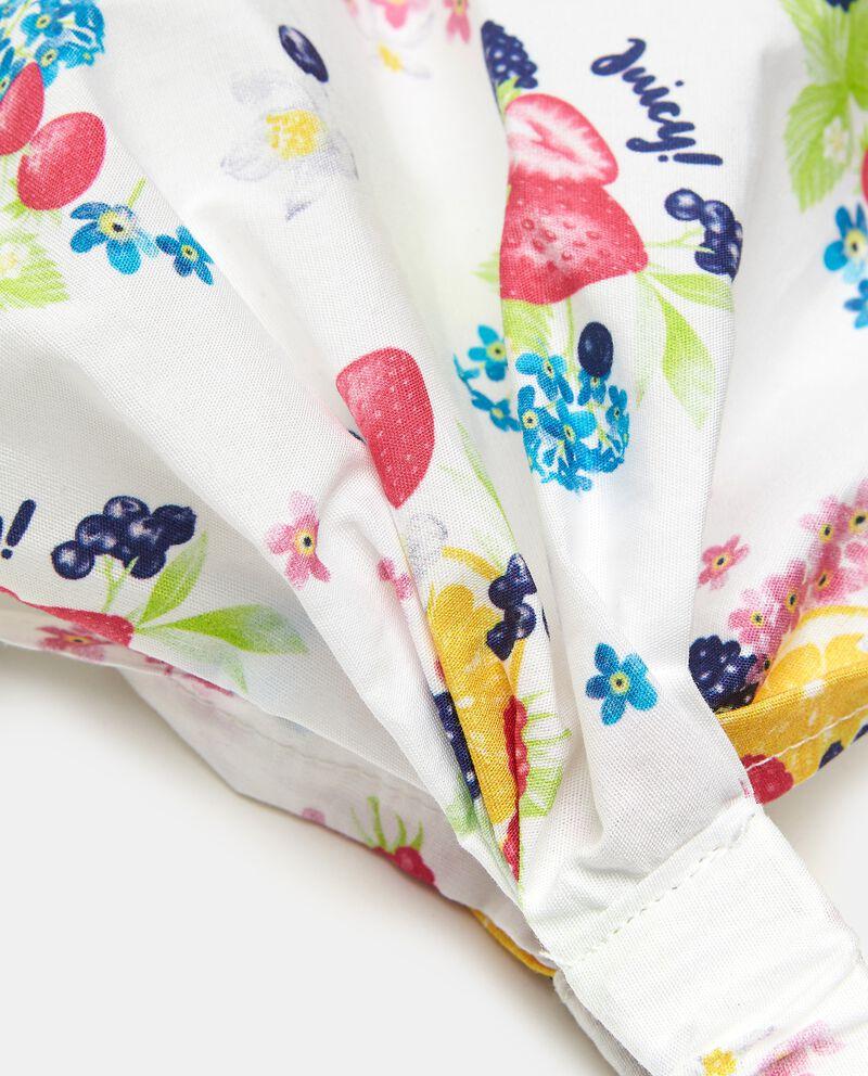 Bandana puro cotone popeline neonata single tile 1