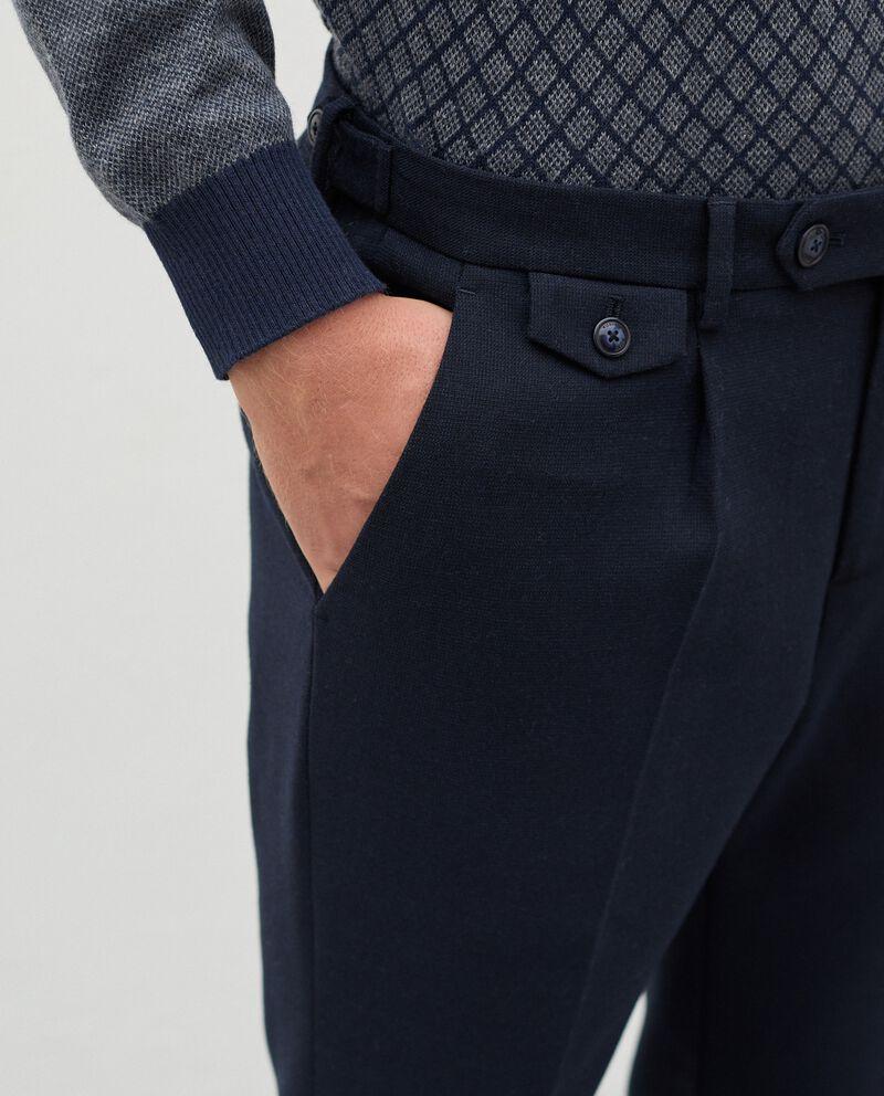 Pantaloni eleganti in poliviscosa uomo single tile 2