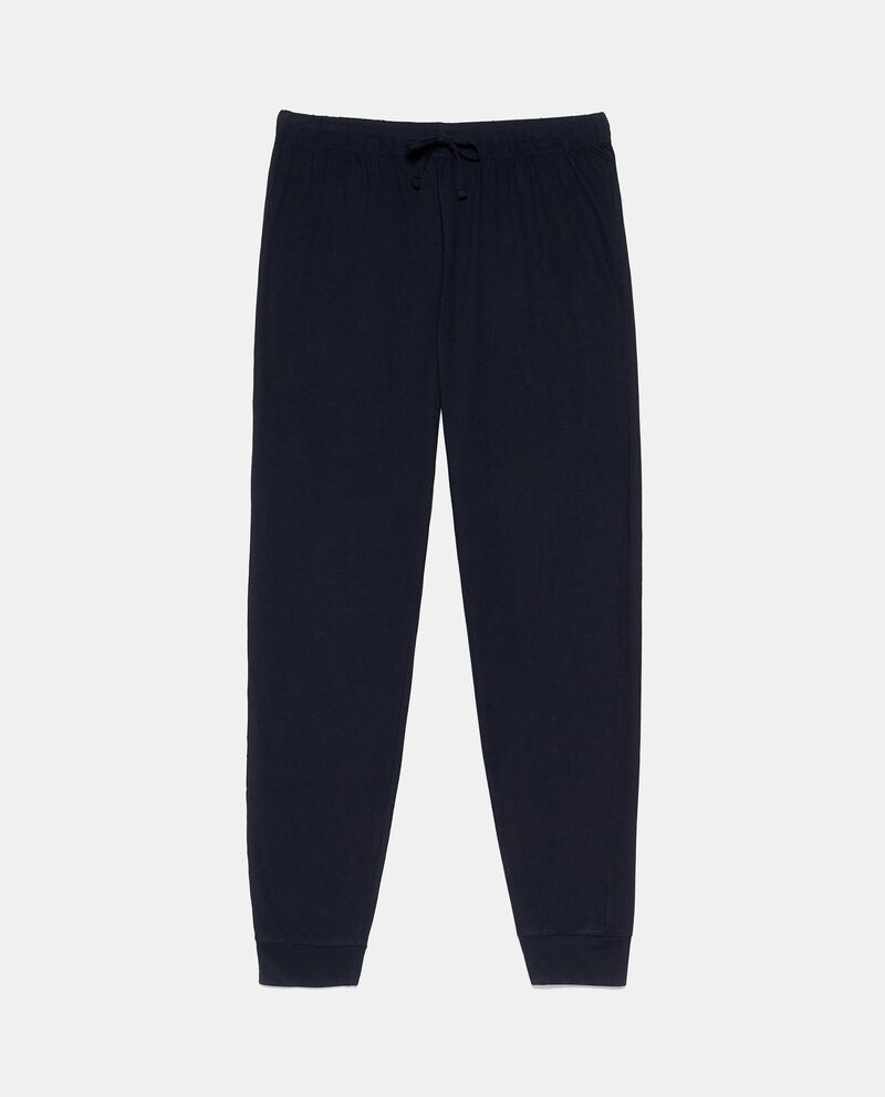 Pantaloni pigiama in puro cotone uomo