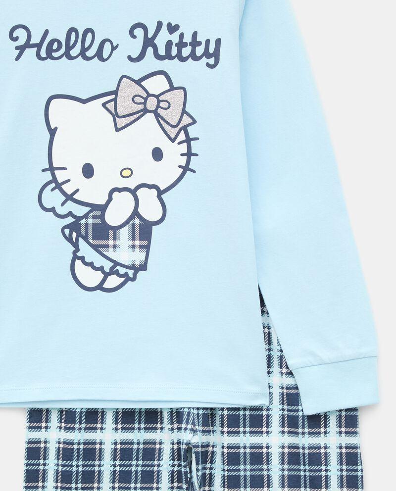 Pigiama con stampa Hello Kitty di puro cotone bambina single tile 1