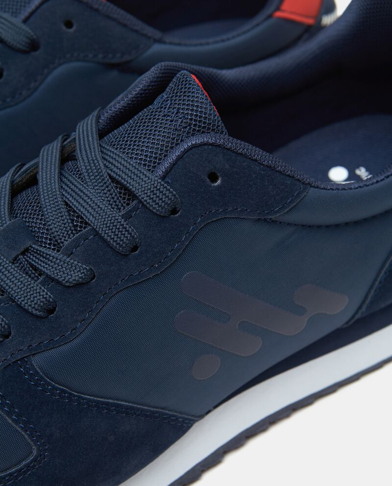 Sneakers con stampa uomo